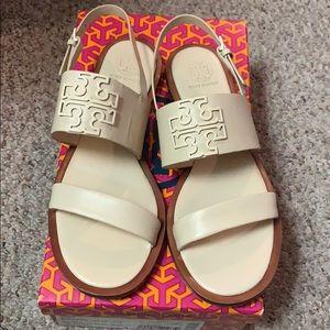 Tory Burch sandals cream size 8
